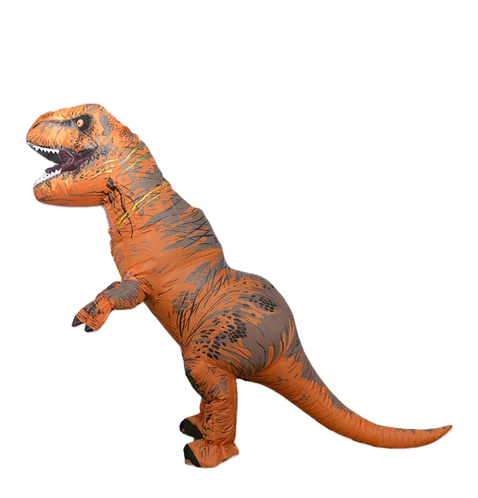 Dinosaur Inflatable Costume Halloween Adults Spinosaurus Cosplay Party Outfits