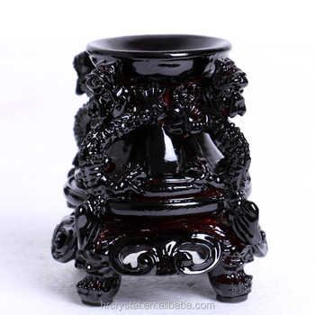 Wholesale Resin Sphere Stand Carved Dragon Carving for Display