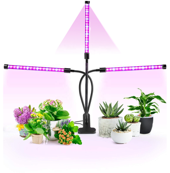 full spectrum 4 heads artificial indoor led growing plant light