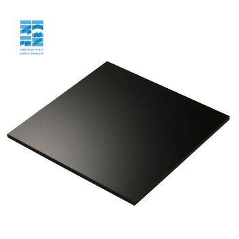High Quality 2mm 3mm 4mm 5mm Black Perspex Sheet PMMA acrylic board Cut To Size acrylic black sheet