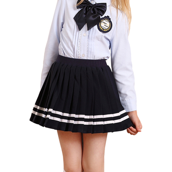 Kids clothing Girls Clothes Anti-wrinkle and Soft British Style Pleated Skirts Design School Girls Plaid Short Skirt Uniform