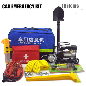 Auto& Motorcycles first aid car emergency roadside emergency kit