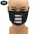 White Printed Face Mask Christmas Reusable Washable Cloth Fabric Custom Masks Cotton Facemask Logo Mask