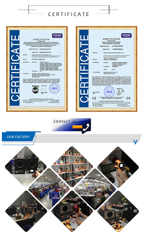 1000 degrés four sonde avec saphir conactless régulateur de température capteur de surveillance pour l'industrie