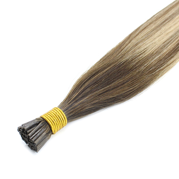 Cuticle Aligned Manufacturer Remy Tangle Free Human Hair I Tip Micro Links Hair Extensions