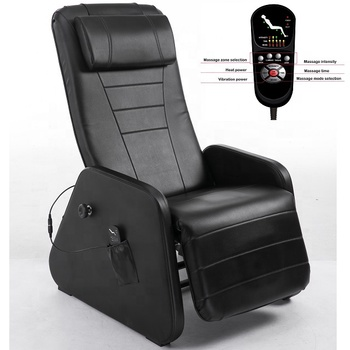 BSCI Passed PVC Material Zero Gravity Massage Lay Flat Recliner Chair with Removable Headrest