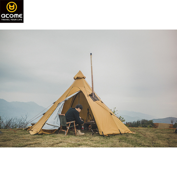 Acome outdoor stove camping tent canvas teepee suppliers tent