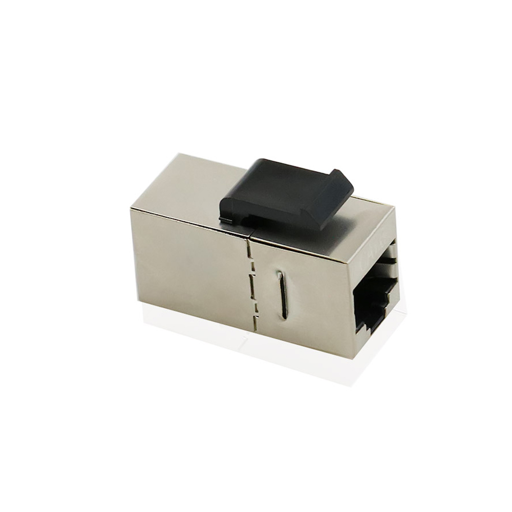 RJ45 Keystone Jack Cat6 Shielded Modular Coupler With Latch 8P8C Connectors Ethernet LAN Network Cable Extender Adapter