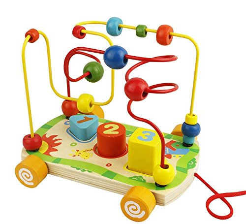 Baby Wooden Toys Bead Maze Wooden Car Roller Coaster Beads Abacus For Toddlers Travel Games Educational Shape Sorter Game Buy Abacus Kit Abacus Ornament Abacus Tools Mini Abacus Keyring Abacus Counting