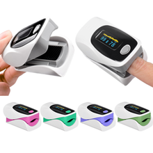 CE certified finger clip oximeter with the best fingertip pulse oximeter with two-color OLED screen