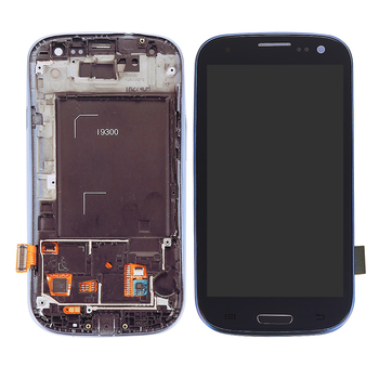 touch screen panel for samsung galaxy s3 i9300 i9308 phone LCDs with frame replacement