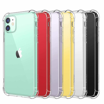 2020 Stock Amazon 1.5 MM Shockproof Air Cushion Soft TPU Back Cover For Iphone 12 Mini Case,For Iphone 12 case