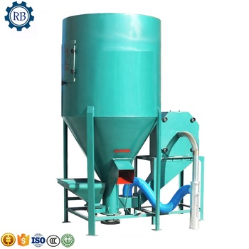 Economical and practical poultry food mixer milling machine animal feed milling mixer fodder grinder and mixer