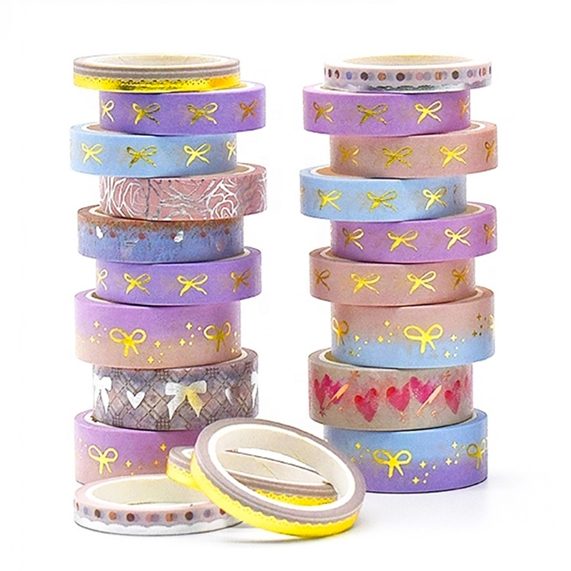 Custom ornament and gift GOLD FOIL washi tape