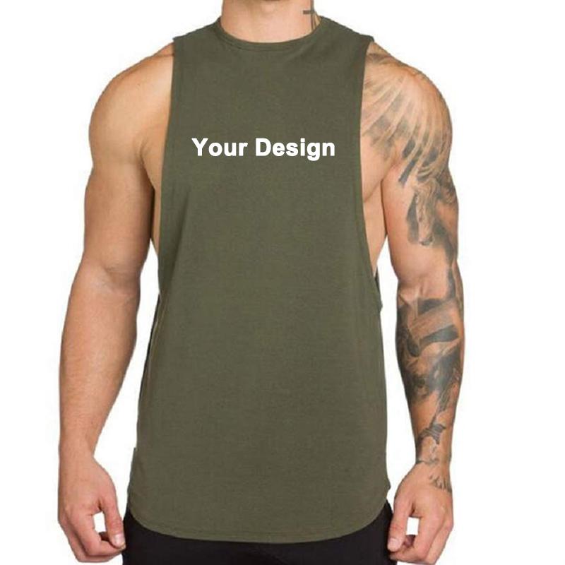 Mens Stringer Workout Tank Top Gym Singlet Muscle-Tee T-Shirt Sports Vest Tops