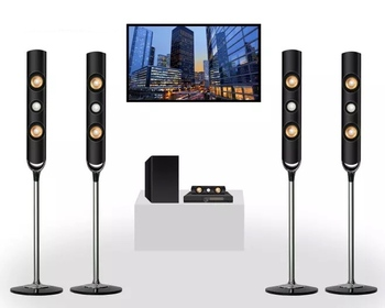 Professional 3D Audio hifi Woofers Led 5.1channel Bluetooth Music 7.1 Karaoke Electronic Sound DJ Home Theatre System Speaker