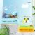 new pattern floating stamps cute children toy clear fabric clothing water world name stamp