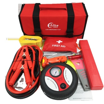 Hot Selling Quality Car Emergency Roadside Tools Kit,Auto Emergency Kit