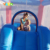Inflatable bouncer with Start printing for kids for residential use