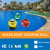 Pool Lights 0.5W Solar LED Lamp Globe Light Waterproof 7 Color Changing Floating Swimming Pool Party Decor