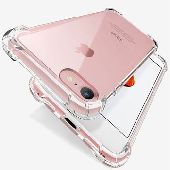 Luxury Shockproof Silicone Phone Case For iPhone 12 SE 2020 7 8 6 6S Plus 7 Plus 8 Plus XS Max XR 11 Transparent Back Cover