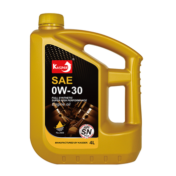 Kasder Synthetic OW30 car Engine Oil and Lubricants oil