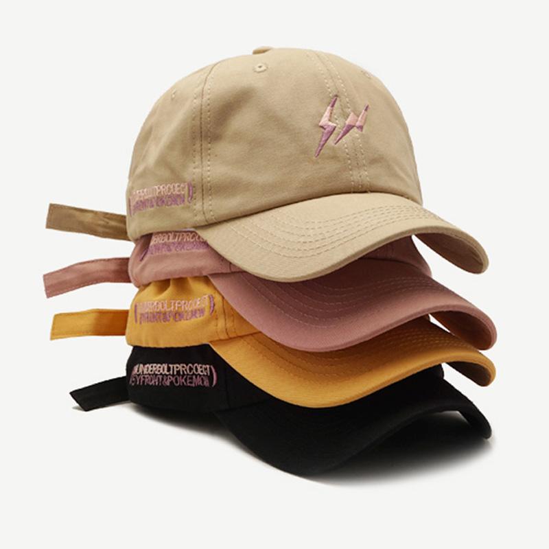 Flower Embroidered SOFT Unstructured Adjustable Hat Cap