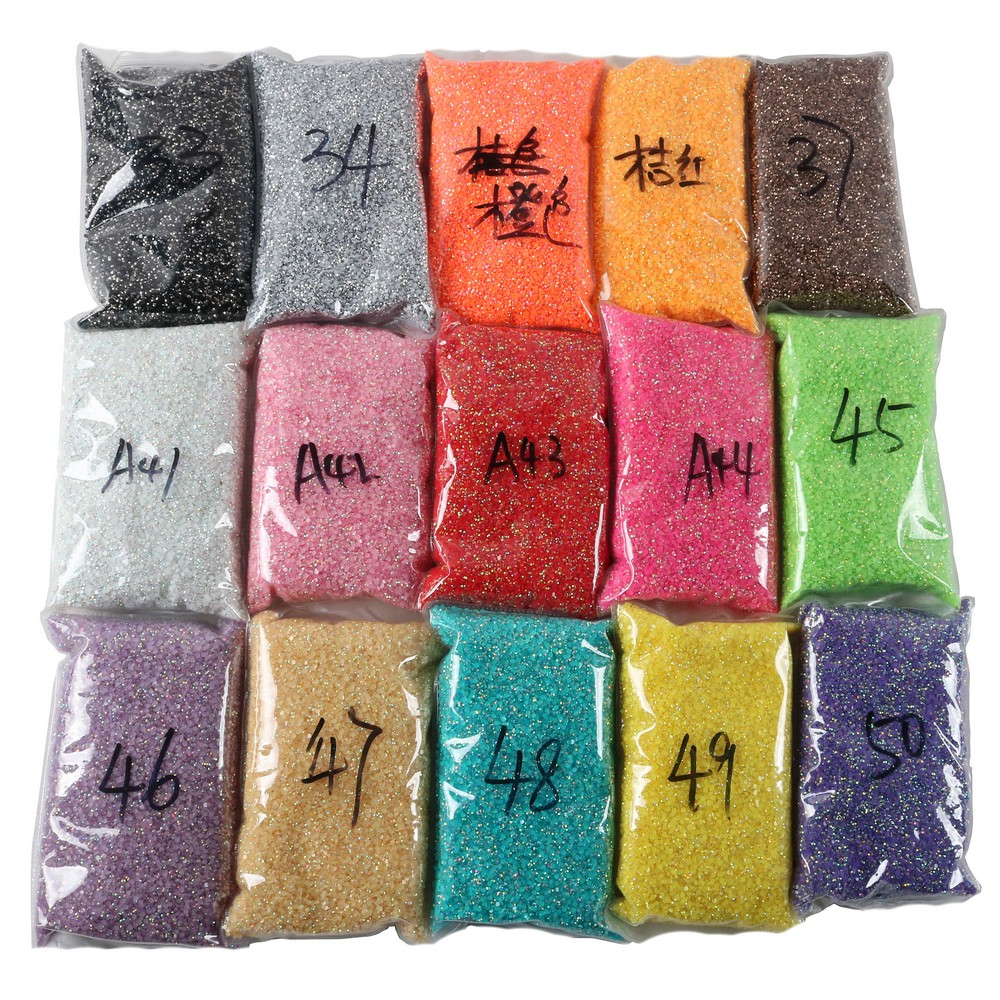 2 Mét 2.5 Mét 4 Mét 5 Mét Phẳng Lại Vòng Resin Ab Đá Opal Kẹo Pastel Thạch Màu Nail Art Rhinestone Đối Với Mỹ