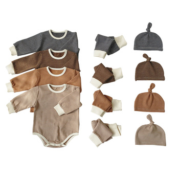 2019 new girl baby romper organic cotton baby clothes baby boy sets clothes