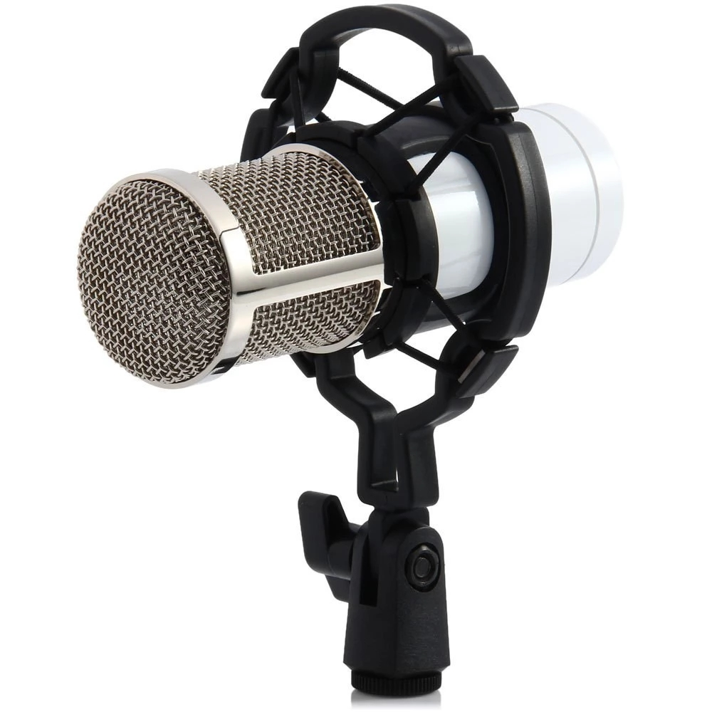 Condenser Wired Microphone Mic stand Studio for Recording Kit KTV Karaoke with Shock Mount bm 800