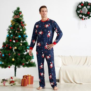 Family matching sets adult children traditional ready to ship christmas pajamas womens