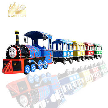 Electric trackless train thomas the train