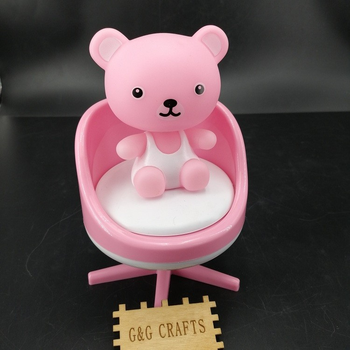 Plastic Baby Shower Little Bear Music Box