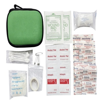 Car emergency kit with air compressor bug out bag emergency kit survival automobile tools bag first aid kit emergency