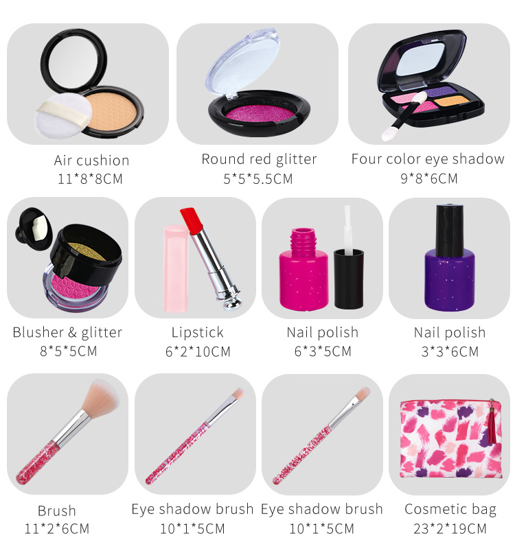 Educational Toys for Kids 2020 Face Child Cheap China Factory Diy Cosmetics Girl Makeup Toy