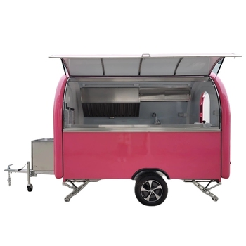 Food trailer street kitchens /outdoor move van/ fryer ice cream food cart
