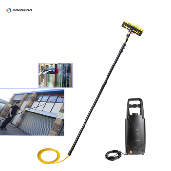 45ft 50ft 60ft himod water fed pole system cleaning pole pure water window cleaning equipment