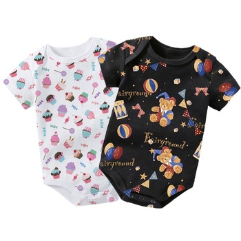 Wholesale New Born baby girl clothes Organic Newborn Baby Clothes made in China