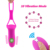 Rechargeable Wireless Remote Control Female Sex Toys G-Spot Love Jump Egg Vagina Vibrator for Women