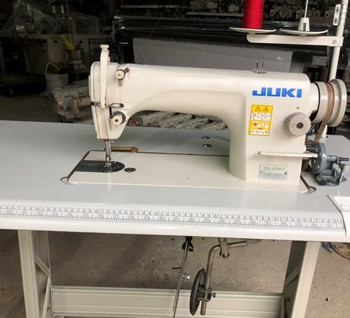 Original used JUKI8700 single needle lockstitch industrial sewing machine
