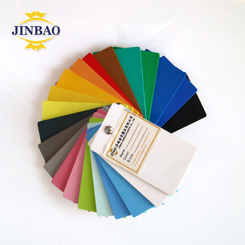 JINBAO China manufacturers white rigid high density 3mm 5mm 10mm 1220*2440mm Art materials sintra PVC