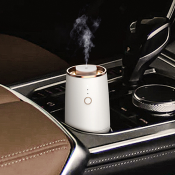 SCENTA New Design Luxury USB Rechargeable Pure Aroma Nebulizer Essential Oil Diffuser Car