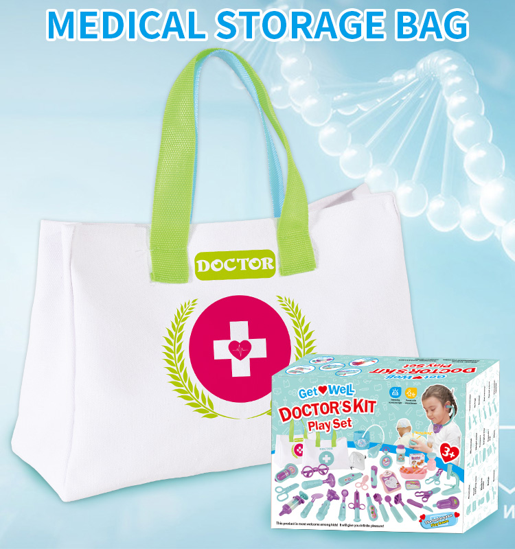 for Girls Toy Play Set Medical Kids Nurse Kit Educational Baby DIY Kid Doctor Toys Games