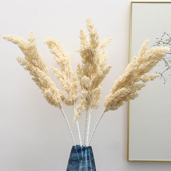 ZHUOOU Artificial Reed Grass Artificial Leaves for Home Decoration