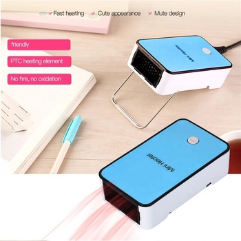 Factory Direct Low Energy Consumption Winter Simple Desktop Household Portable Mini Heater