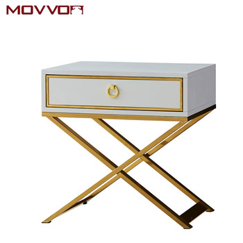 Light Luxury Bedside Table, Modern Bedroom, Small Apartment Furniture Bedside Table