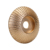 Wood Grinding Wheel Angle Grinder Disc Carving Sanding Abrasive Tool  For Angle Grinder High-carbon Steel  5/8inch Bore