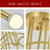 Nordic lamps modern minimalist golden iron art led ceiling lamp home bedroom dining room lamp