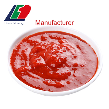 HALAL/ HACCP AXENICALLY PROCESSING High Quality Egypt Red Pepper Chili Paste Sauce