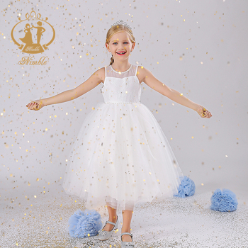 Nimble 2020 New Fashion Frock Design For Baby Girl Children Clothes Kids Party Wear Girls' Dresses Wedding